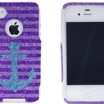 SALE 10 OFF iPhone 4S Otterbox iPhone 4 Case Glitter by 1WinR