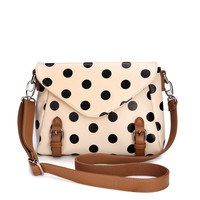 [grhmf220005]Retro cute Polka Dot Messenger Bag shoulder bag