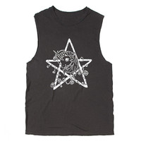 My Little Pony TShirt  Pentacle Tee Muscle by StandardExcessVtg