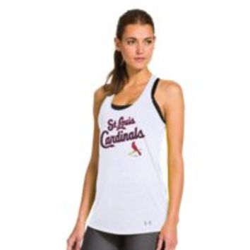 Under Armour Womens St. Louis Cardinals UA Achieve Tank