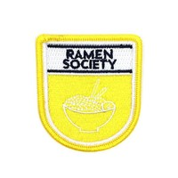 Ramen Society Badge Patch