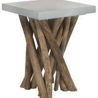 Hartwick Side Table Grey