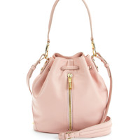 Cynnie Mini Bucket Bag, Pink Beach - Elizabeth and James