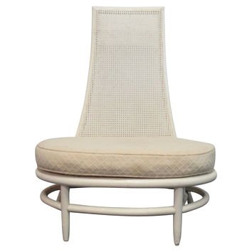 Hollywood Regency Oval Chair