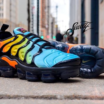 KU-YOU Nike VaporMax Plus Sunset Womens 15c9d5de3397