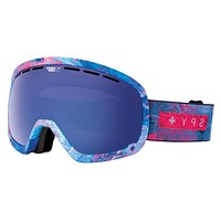 Spy Marshall Marbled Purple Goggles, Happy Rose W/ Dark Blue Spectra + Happy Bronze W/ Silver Mirror Lenses