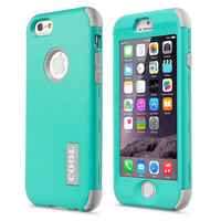 "New For Apple iPhone 6 4.7"" Protect Case Cover Slim Hybrid Dual Layer Shockproof TPU Hard Phone Cases w/Screen Protector+Pen"