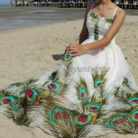 Floral Maxi Dress Plus SIze Clothing Wedding Gown Bridesmaid Dress Prom Floral Evening Dress Women
