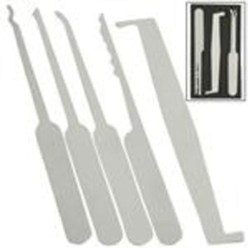 Black Card 5 Piece Lock Picking Kit