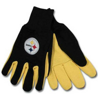 Pittsburgh Steelers NFL Two Tone Gloves