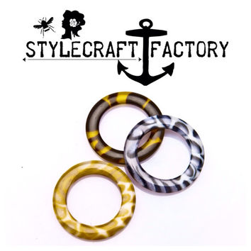 O Ring for purse , jewlery or sandal accessory diy items .