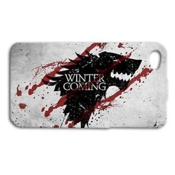 Game of Thrones Cute Wolf Cool Phone Case iPhone 4 5 5c 4s 5s 6 6s Plus + Cover
