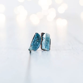 Aquamarine earrings | Aquamarine stud earrings | Aquamarine studs | March Birthstone earrings | March Birthstone jewelry