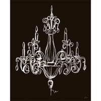 Elegant Chandelier I Canvas - Hollywood Glamour - What's Your Design Style - Style - PoshLiving