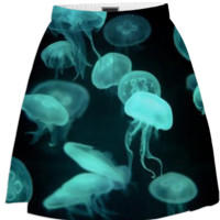 Jellyfish Blue created by SonderSky | Print All Over Me