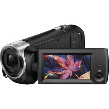 Sony - HD Flash Memory Camcorder - Black