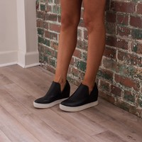 Wanted Wedge Platform- Black - Thirty One Boutique