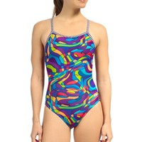 Dolfin Uglies Miro V-2 Back One Piece at SwimOutlet.com