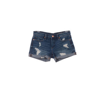 Blank NYC Womens Distressed Shorts