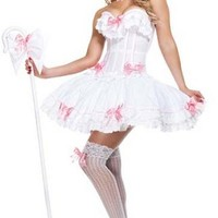 Starline T2602 Bo Peep Carousel Corset Deluxe Costume Storybook Fairytale Small Medium Large Extra Large Free Shipping