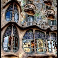 Art Excellence: Biomorphic: The Inspiration of Antoni Gaudi