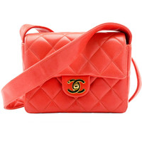 Chanel Rare Orange Shoulder Bag