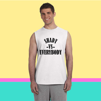 shady -vs- everybody3 3 Sleeveless T-shirt