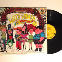 Rare LP Album Willy Wonka And The Chocolate Factory And Other Sweet Songs Vinyl Record The Golden Orchestra