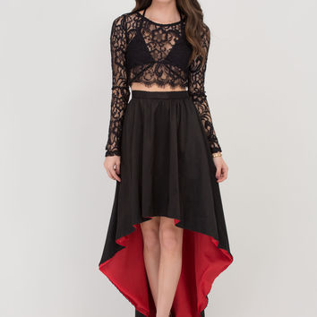 Meet Me At Midnight Two-Piece Dress