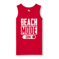 Boys PLACE Sport Sleeveless Graphic Tank Top | The Children's Place