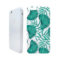 Tropical Leaves Summer Beach Holiday Rubber Jelly Matt White Plastic Phone Case for Iphone_ SUPERTRAMPshop (VAS1381, iphone 6)