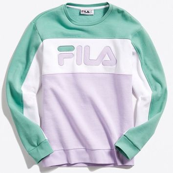 FILA Lesner Crew-Neck Sweatshirt | Urban Outfitters