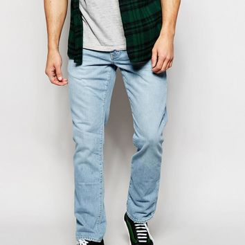 River Island | River Island Light Wash Jeans in Slim Fit at ASOS