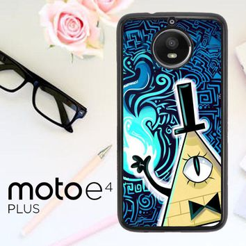 Gravity Falls Bill Cipher  X4424 Motorola Moto E4 Plus Case