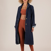 Chic For Yourself Denim Trench Coat