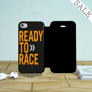 Ktm Ready To Race iPhone 4 |4S Flip Case