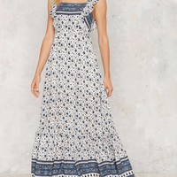 Beachy Keen Maxi Dress