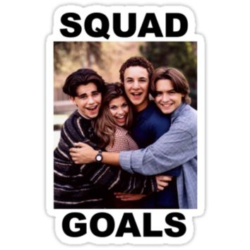 Boy Meets World Squad Goals by fireandtheflood