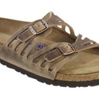 Granada Soft Footbed Tobacco Oiled Leather Sandals | Birkenstock USA Official Site