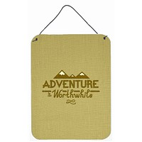 Adventure is Worthwhile Wall or Door Hanging Prints BB5467DS1216