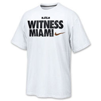 Men's Nike Miami Heat NBA LeBron Witness T-Shirt