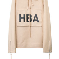 TAN WOOL ZIPPER HOODIE | @HoodByAir | VFILES SHOP