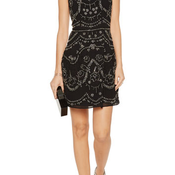 Needle & Thread Embellished crepe mini dress – 57% at THE OUTNET.COM