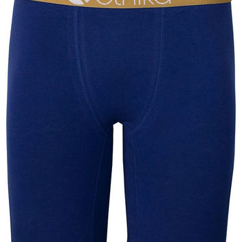 The Staple Boxers in Navy & Gold