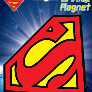 Superman Shield Logo Car Magnet