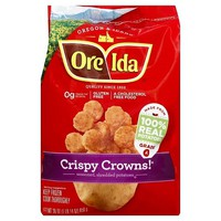 Ore-Ida Crispy Crowns! Seasoned, Shredded Potatoes 30-oz.