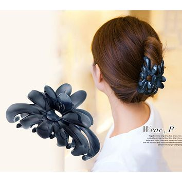 Women headwear fashion shower hair catcher strainer hair claw korean hair clips vintage hair accessories for women