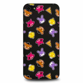 Fnaf Freddy S Faces Pattern Cute Kawaii Chibi iPhone 5/5s/SE Case