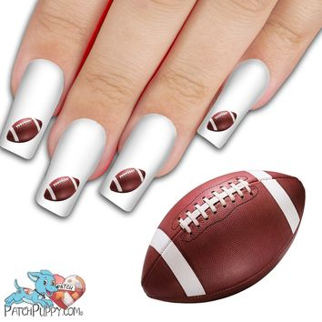 Football Nail Art Decals (Now! 50% more FREE)