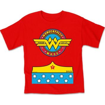 Wonderfully Made Kids Christian T-Shirt